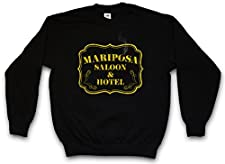 Urban Backwoods Mariposa Saloon & Hotel Sweatshirt Pullover Sweater - Sizes S - 3XL