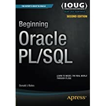 Beginning Oracle PL/SQL by Donald Bales (2015-05-07)