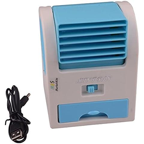 Mercado Boss Mini Handheld Ventilador portátil USB Aire Acondicionado Acondicionador Agua Cool Cooler