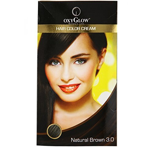 Oxyglow 8906034012342 Hair Colour Cream Brown 175g Best Price In