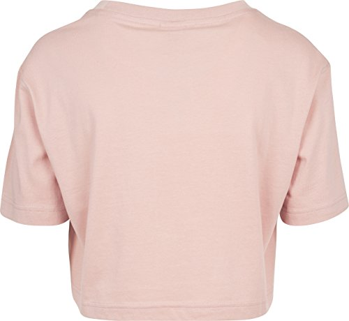 Urban Classics Damen T-Shirt Ladies Short Oversized Tee Light Rose