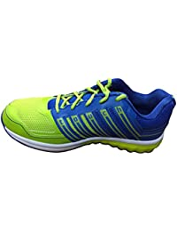 Lakhani Mens Touch 15-624 Blue and Green Running Shoe-8