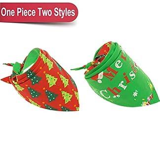 bingpet christmas dog bandana reversible pet scarfs cute triangle bibs kerchief for pet BINGPET Christmas Dog Bandana Reversible Pet Scarfs Cute Triangle Bibs Kerchief for Pet 41WhrPa044L