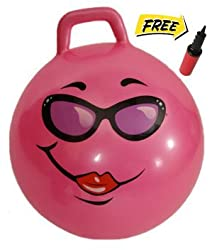 Pink Jumping Hopper Hop Ball: Ages 10-12 (Teenagers)