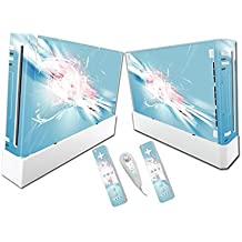 Linyuan Gaming Console & Controller Skin Sticker Decal A0236* para Nintend Wii