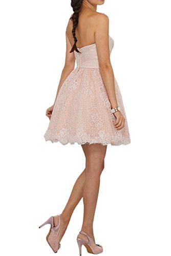 Gorgeous Bride Beliebt Herzform A-Linie Mini Tanzkleider 2017 Damen Partykleider Abendkleider Kurz Cocktailkleider Ballkleider Silver