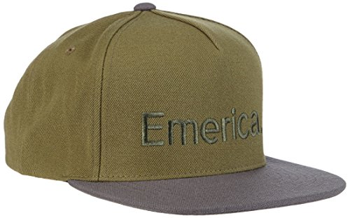 Emerica Cap Pure Snapback SP15, Olive, One Size (Issue Standard Emerica)