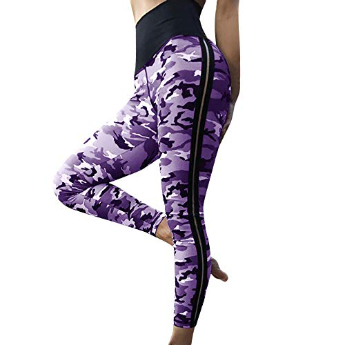 WUDUBE Pantalon Femme, Yoga Legging de Sport Femme Fitness Yoga Jogging Pantalo