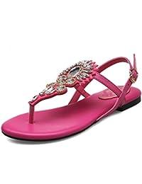 HAIZHEN chaussures pour femmes 12cm Femelle antidérapante Chaussures de plage de sable épais Doux bow chaussures décontractées sandales 9 sortes de couleurs Pour femmes fzOVBF
