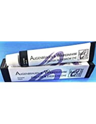 Hairwell Augenbrauen- und Wimpernfarbe Nr. 1 Schwarz 20 ml Für eine dauerhafte, mehrere Wochen haltbare Färbung