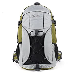 41WhvCRlQgL. SS300  - Backpack LIGHTING Outdoor waterproof hiking bag / 32L hiking riding-Grass green 32L