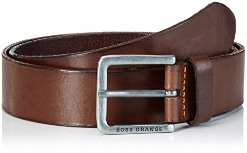 BOSS Orange Herren Gürtel Jeek, Gr. 100 cm, Braun (Brown 200) (Hugo Boss Leder Braun)
