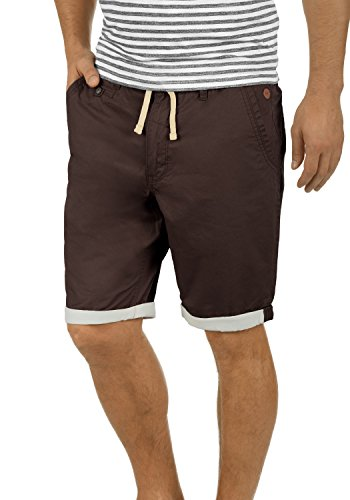 BLEND Kankuro - pantaloncini da Uomo Coffee Brown (75103)