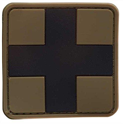 Patch 3D First Aid PVC m. Klett large - Klett Jacke Patch