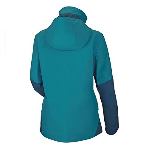 Salewa Antelao Beltovo Ptx/Prl W Jkt - Veste pour Femme, couleur Bleu, taille caneel bay