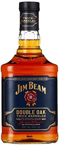 Jim Beam Double Oak Bourbon Whiskey (1 x 0.7 l)