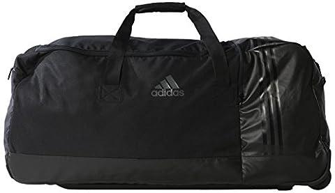 adidas Sporttasche 3 Stripes Performance Teambag Wheels, schwarz, 80 x 36 x 35.5 cm, 102 Liter, AK0001