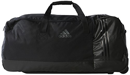 adidas Sporttasche 3 Stripes Performance Teambag Wheels, schwarz, 80 x 36 x 35.5 cm, 102 Liter, AK0001