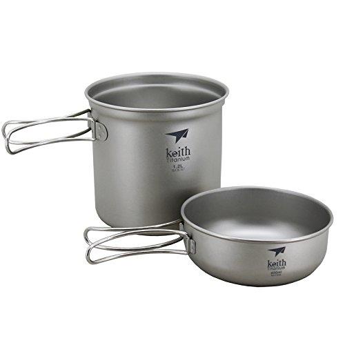 keith-lightweight-pot-set-camping-cookware-titan-topf-klapp-schussel