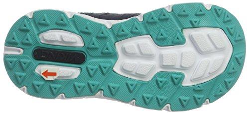Viking Holmen, Chaussures Multisport Outdoor mixte enfant Blau (Navy/Green)