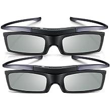 Samsung SSG-P51002 - Pack de 2 Gafas 3D SSG-5100GB (150 horas batería), negro