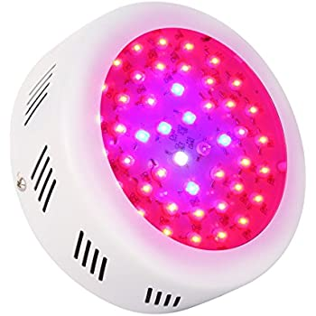 Perfect Roleadro LED Grow Lamp UFO 138W 9 Band Spectrum LED Grow Light Hydroponic  Lights With UV