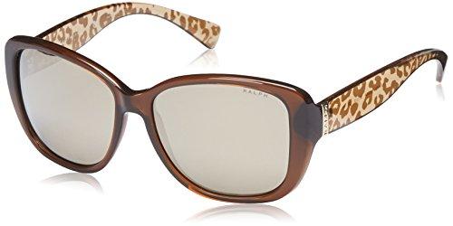 Ralph Lauren Purple Label Unisex RA5182 12635A Sonnenbrille, Braun (Brown), One size (Herstellergröße: 57)