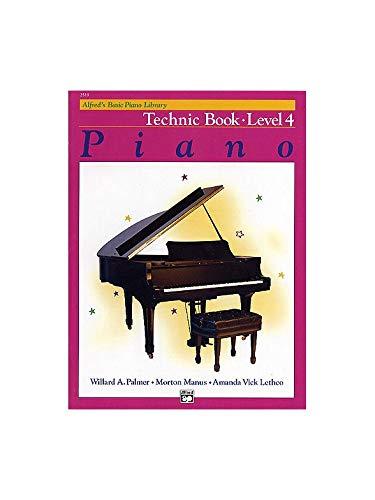 alfred' S Basic Piano Technic Book: Level 4. For Piano