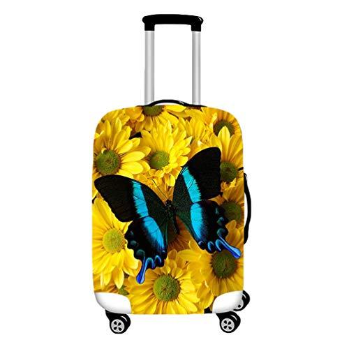 YiiJee Kofferschutz Luggage Cover Kofferschutzhülle Mit Trendigen Drucken Abdeckung 18-28 Zoll Als Bild8 S