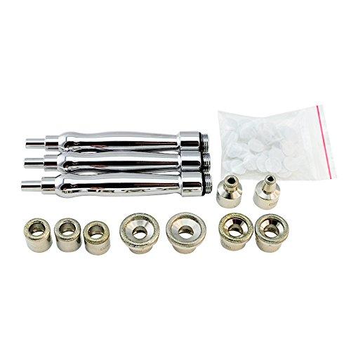 vinmax Diamant Microdermabrasion avec 9 embouts Accessoire 3 baguettes 1 Sacs Coton Filtres