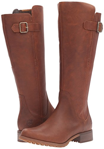 Timberland Women s Banfield Tall All Fit WP Riding Boot  Wheat Forty  4 UK