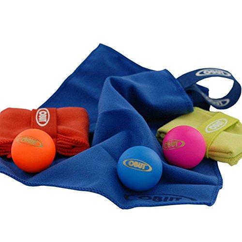 OBUT Pack de 3 gamuzas+3 boliches color