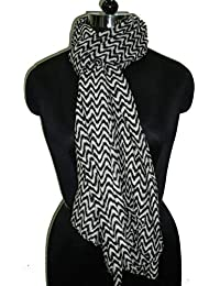 SS Women's black PolyCotton Scarves | A134| Free Size |