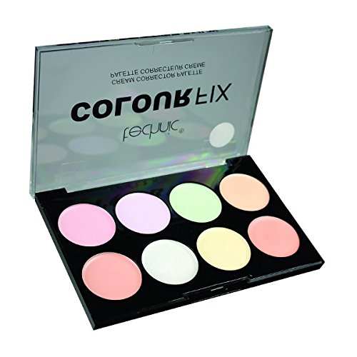 Crème correctrice palette 8 tons Technic Colour Fix