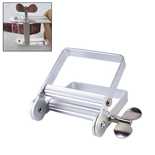 Yissma Máquina exprimidora de Tubos de Metal Pegamento de Color cosméticos para el Cabello, Pasta...