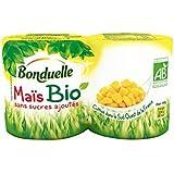 Bonduelle - Mais Sans Sucre Ajouté, Certifié AB - (Prix Par Unité ) - Produit Bio Agrée Par AB
