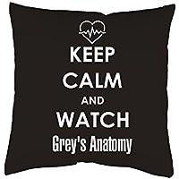 Kissen mit Print Grey's Anatomy Kissenbezug mit Motiv 40x40 cm Kissenhülle mit oder ohne Füllung