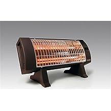 HJM 306 - Calefactor (Calentador de cuarzo, Piso, Negro, 1200 W,