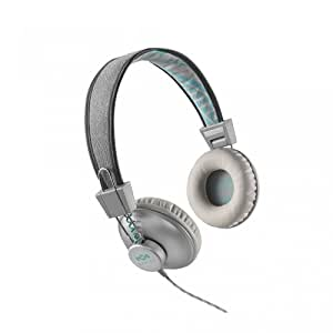 House of Marley Positive Vibration Headphones with Mic - Mist