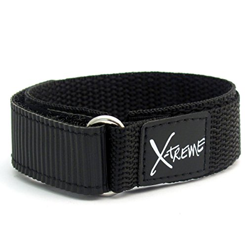 x-treme-tough-sports-watch-strap-band-hook-and-loop-rip-tab-fastening-mens-gents-20mm-black