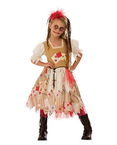 Horror-Shop Voodoo Girl Kinderkostüm als ideale Verkleidung für Halloween & Motto Party L (Voodoo Child Kostüm)