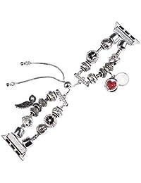 Ni_ka For Apple Watch Series 1/2/3/4 42 / 44mm Jewelry DIY Bracelet Strap