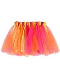 KOLY Bambino Ragazze Arcobaleno Danza Balletto Vestito Partito Gonna Tutu  Pettiskirt Vestito da Principessa i Bambini 27b38fe03a8