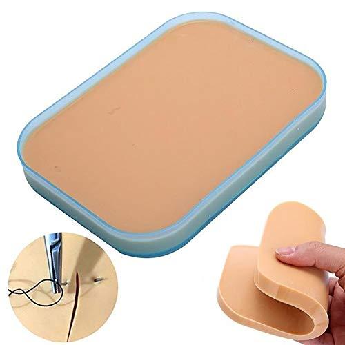ZZYYZZ Suture Practice Kit, dreilagiges Taschen-Nahtmaterial mit Naht für das Nähen