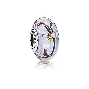 Pandora Damen -Bead Charms 925 Sterlingsilber Glas 797014