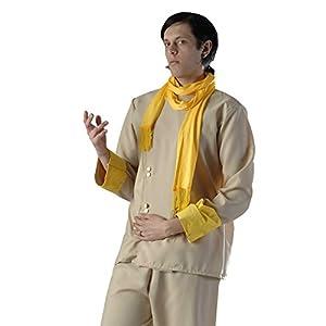 El celibato 97025841.013M - Hombres traje del partido del traje del Sur - 3 piezas - grande M (48/50), beige/amarillo/dorado