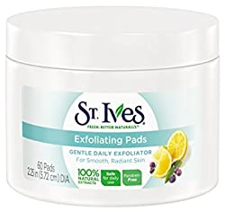 St Ives Face Care Pads, Exfoliating Pads 60 Count