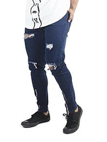 f679dfd4 Distressed Vertical Zipped Denim. Distressed Vertical Zipped Denim. Rs  1,599. Buy Now · Fugazee Mens' ...