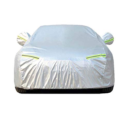 copriauto,Copertura per auto poliestere taff leggero sottile argento neve antigelo protezione solare parasole per auto si prega di lasciare un messaggio (modello di nome del veicolo),Copertura auto -f
