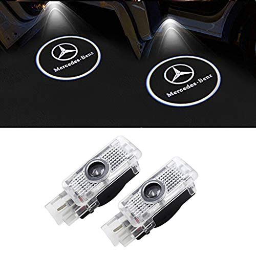 LIKECAR 2pcs einstiegsbeleuchtung auto  projektor Car Styling LED Willkommen Logo